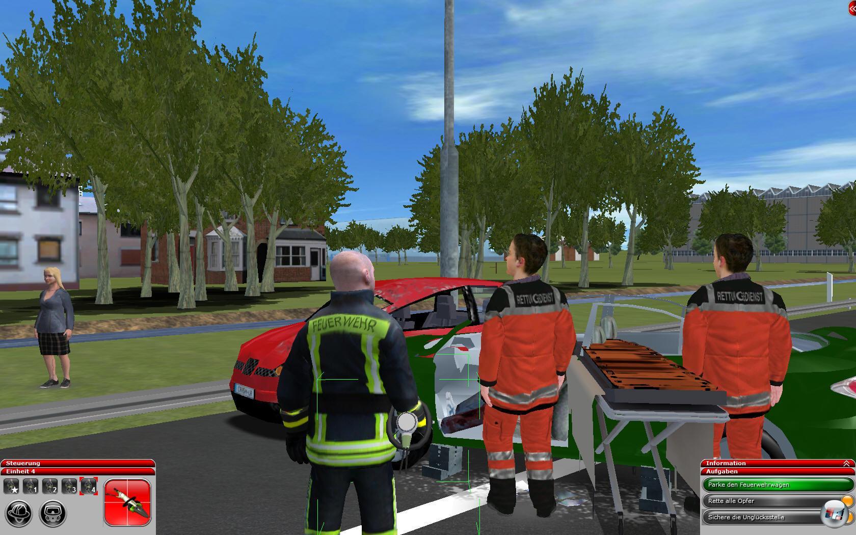 Feuerwehr-Simulator 2010 - Test, Simulation, PC - 4Players.de
