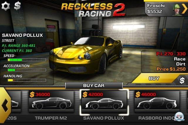Screenshot - Reckless Racing 2 (iPhone)
