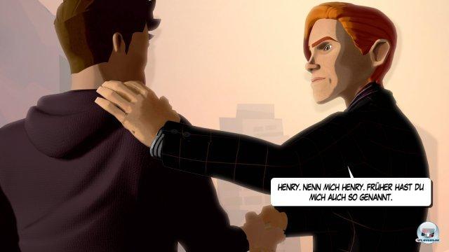 Das Adventure versetzt den Spieler in unterschiedliche Rollen: Im ersten Kapitel steuert man den Konzernerben Henry White.