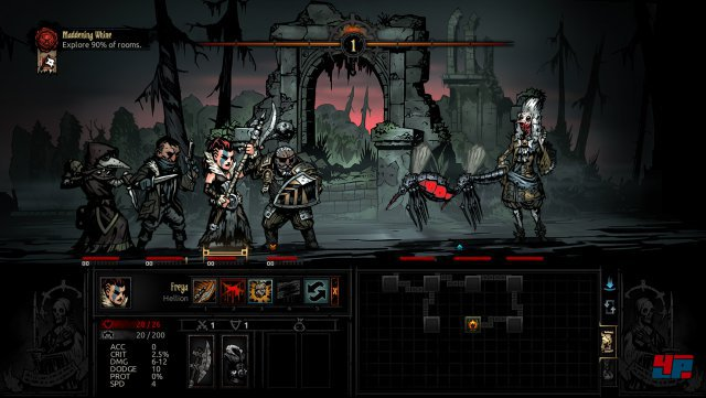 Screenshot - Darkest Dungeon: The Crimson Court (Linux)
