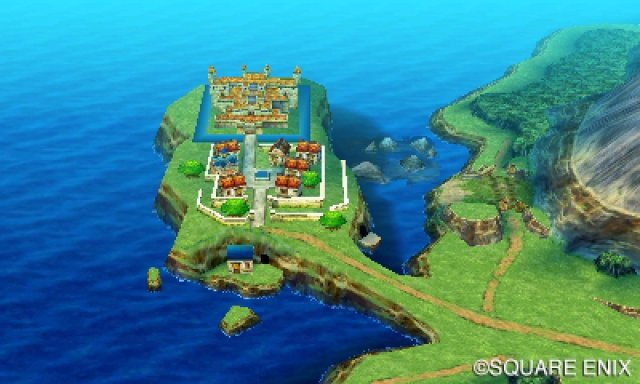 Dragon Quest Builder Carte Du Monde