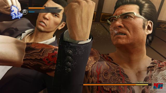Aber natürlich dreht sich auch Yakuza 0 vor allem um deftige Schlägereien.