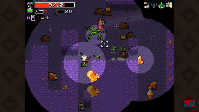 Screenshot - Nuclear Throne (Linux)