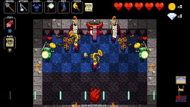 Screenshot - Crypt of the NecroDancer (One)