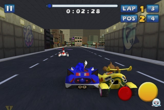 Screenshot - Sonic & Sega All-Stars Racing (iPhone) 2235187