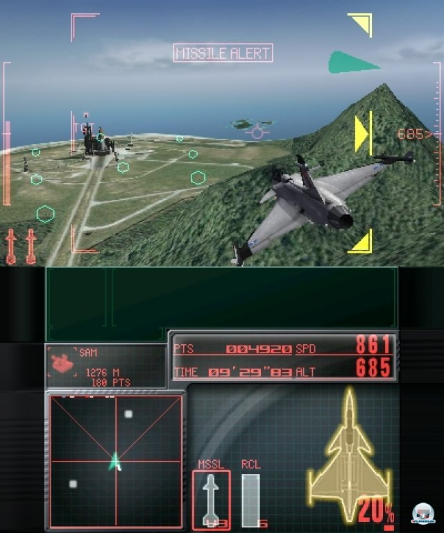 Screenshot - Ace Combat: Assault Horizon Legacy (3DS) 2301187