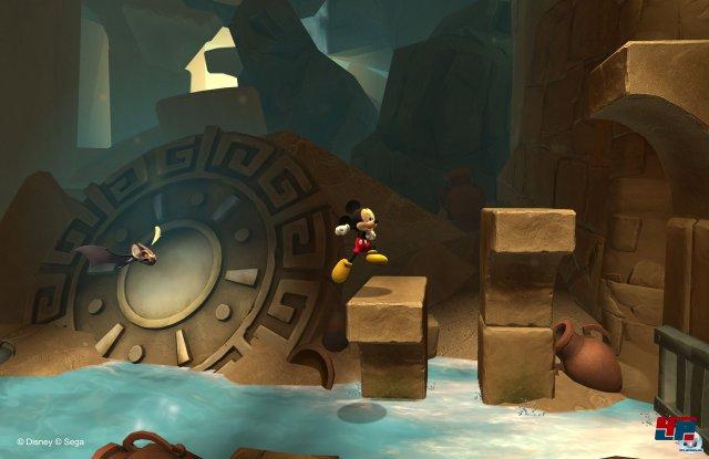 Castle of Illusion (hier das Remake aus dem Jahr 2013) war der Spieledurchbruch für Micky.