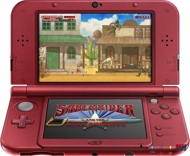 Screenshot - Saber Rider and the Star Sheriffs: The Video Game (N3DS)