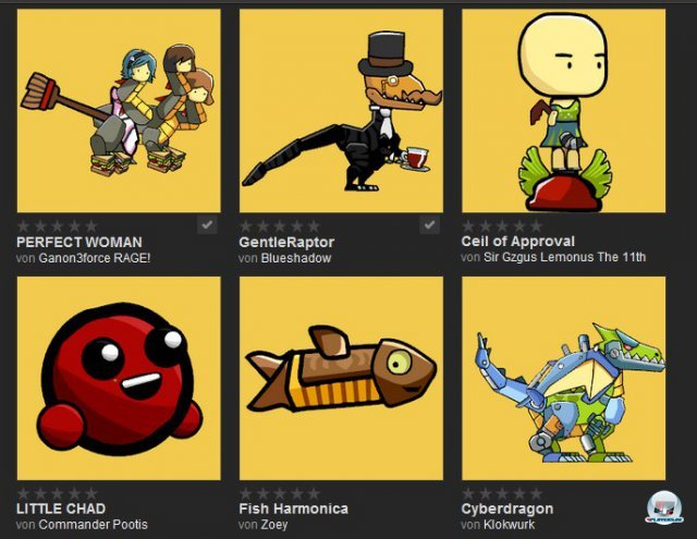 Im Steam-Workshop warten allerlei skurrile Figuren und Werkzeuge anderer User.