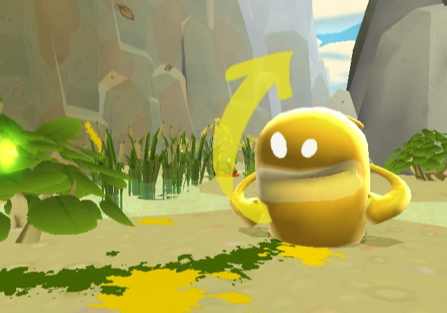deBlob <br><br>  Mit deBlob brachte THQ einen guten Schuss Farbe in die graue Videospielwelt - genau wie es der Held in der tristen Metropole Chroma City vormacht. Nach und nach weichen die deprimierenden Grautöne den bunten Farbklecksen, die man mit der Wii-Remote verteilt. Das ist fast so, als würde man ein Bild von H.R. Giger einer Buntstift-Armee im Kindergarten zur Verschönerung vorlegen...      2088198