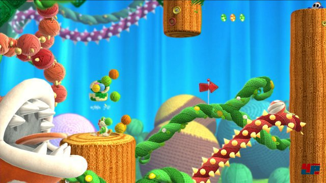 Screenshot - Yoshi's Woolly World (Wii_U)