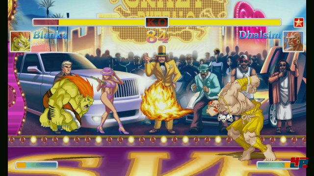 Screenshot - Ultra Street Fighter 2: The Final Challengers (Switch)