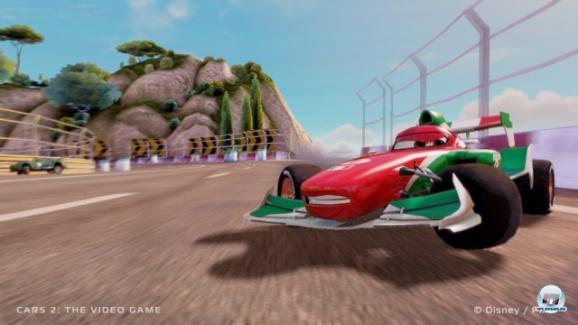 Screenshot - Cars 2: Das Videospiel (360) 2230994