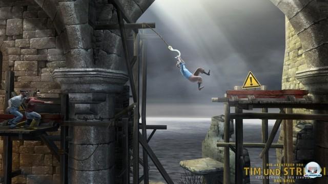 Screenshot - Tim und Struppi: Das Geheimnis der Einhorn (PlayStation3) 2252347