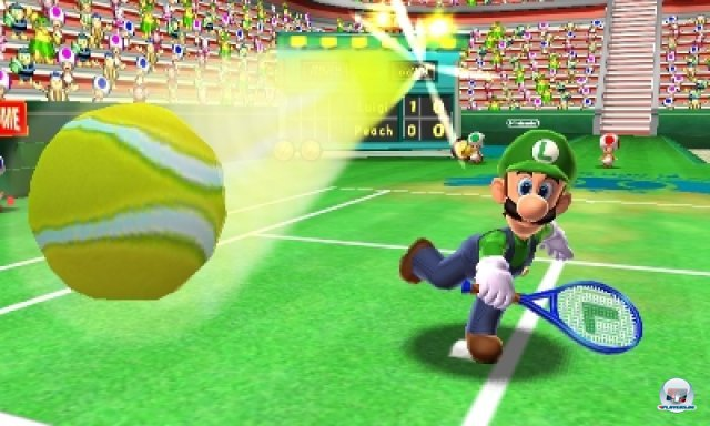 Screenshot - Mario Tennis 3D (3DS) 2266537