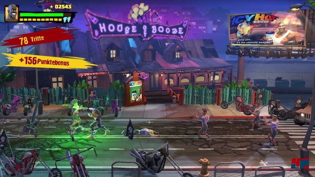 Screenshot - Shaq Fu: A Legend Reborn (PS4)