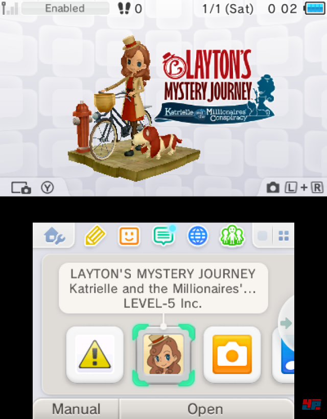 Screenshot - Layton's Mystery Journey: Katrielle und die Verschwörung der Millionäre (3DS)