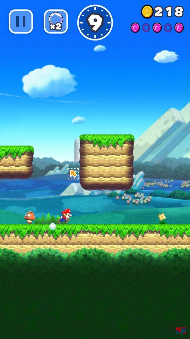 Screenshot - Super Mario Run (iPad) 92537680
