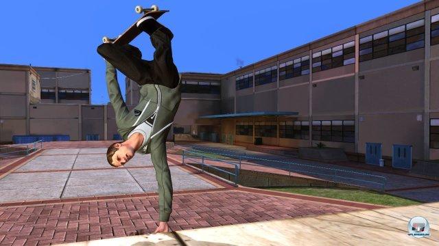 Leider gibt es keinen Skater-Editor mehr. Dafür darf man aber mit seinem Avatar loslegen.