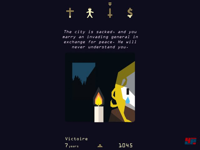 Screenshot - Reigns: Her Majesty (PC)