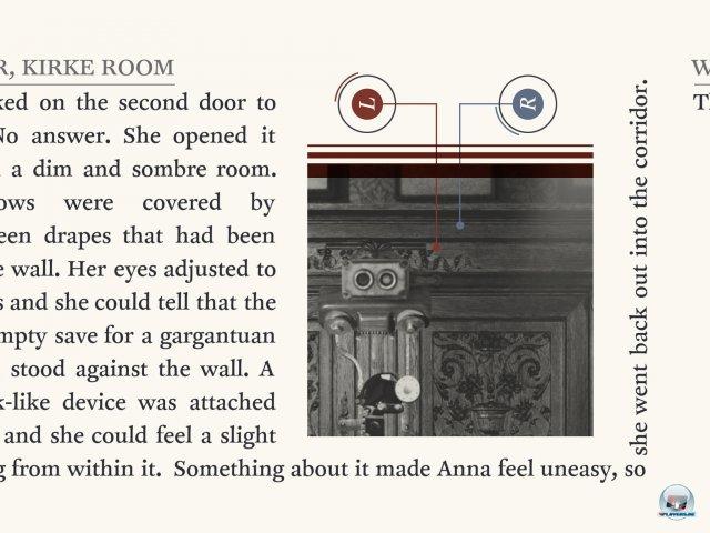 Das Puzzle-Adventure macht mit seinem ungewöhnlichen Layout und seltsamen Apparaturen sofort neugierig.