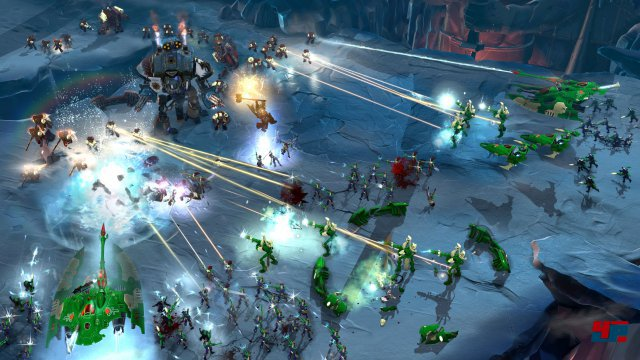 Relic kehrt zur klassischen Rundenstrategie zurück. Helden spielen zwar weiterhin mit, Basisbau ist aber wieder mit dabei.
