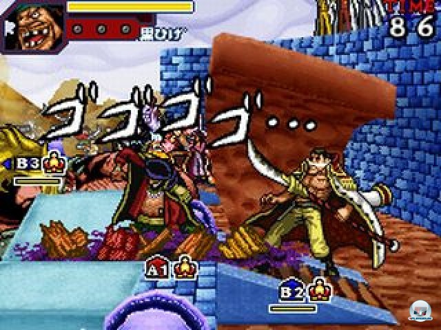 Screenshot - One Piece: Gigant Battle (NDS) 2237493