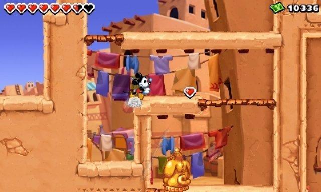Screenshot - Micky Epic - Die Macht der Fantasie (3DS) 92406552