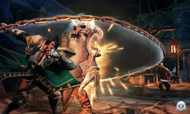 Das Spieldesign ist eine Mischung aus klassischem Metroidvania und Action im God-of-War-Stil...