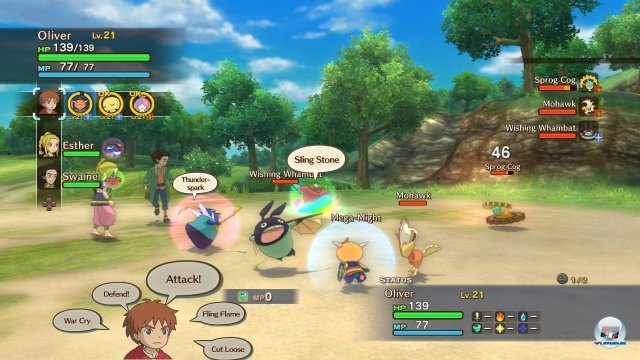 Screenshot - Ni No Kuni: Wrath of the White Witch (PlayStation3) 2361802