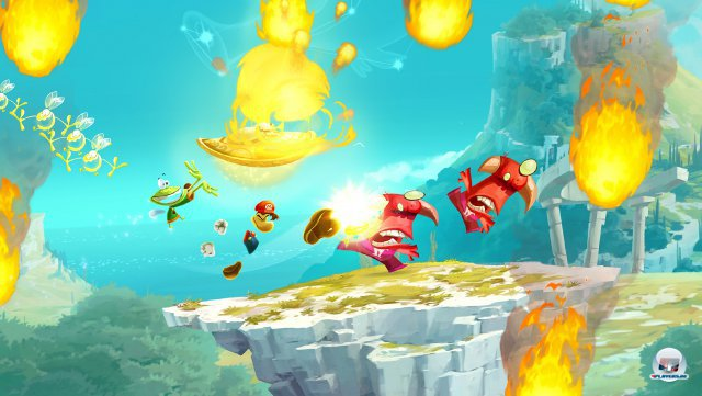 Screenshot - Rayman Legends (Wii_U)