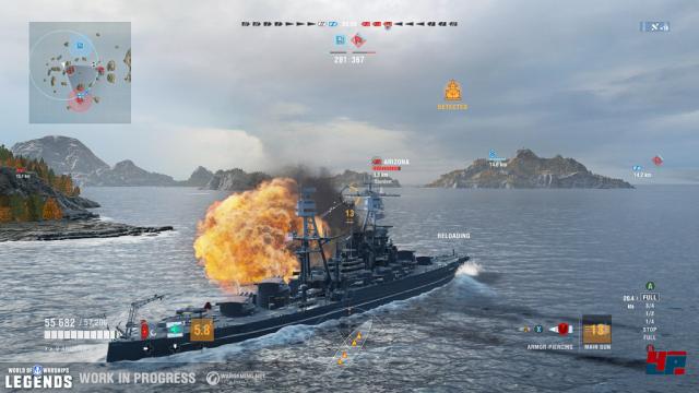 Screenshot - World of Warships (PS4) 92572420