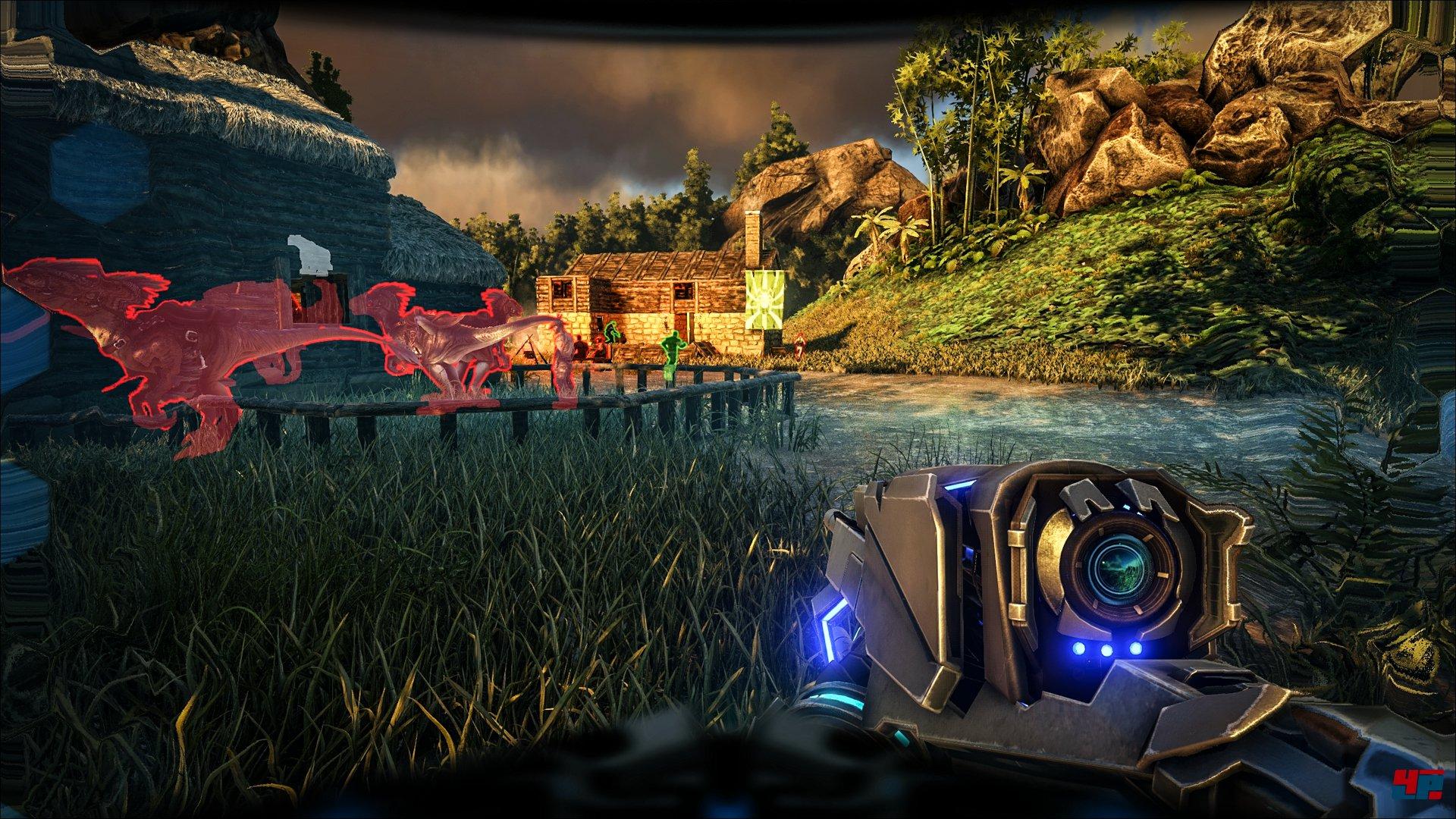 Ark Survival Evolved Tek Update Bringt Sci Fi Waffen Jetpacks Und