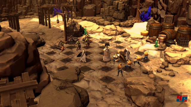 Screenshot - Chessaria: The Tactical Adventure (Linux)