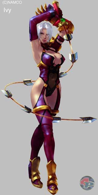 Ivy (Efeu) k�mpft mit der Ivy Braid-Kette, die ihre Kraft vom SoulEdge-Schwert erh�lt, aber wie eine Peitsche funktioniert. 18572