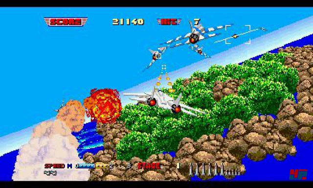 Screenshot - 3D After Burner 2 (3DS)
