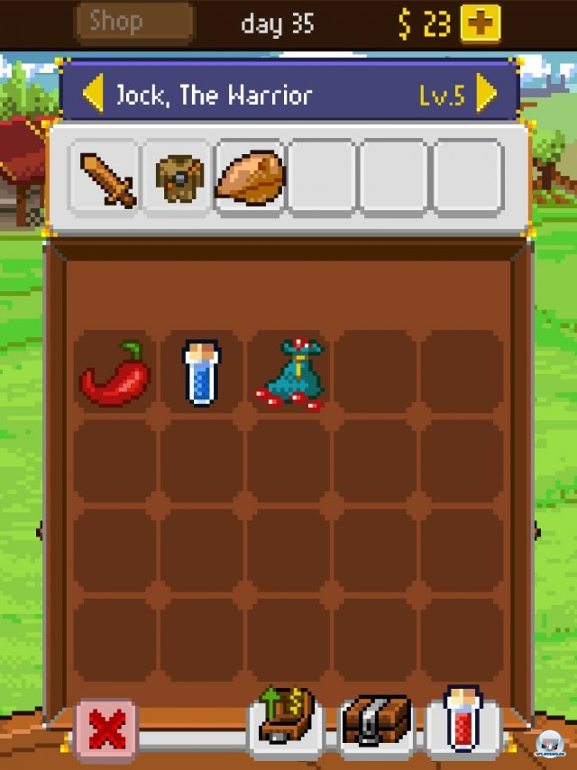 Screenshot - Knights of Pen & Paper (iPad) 92458323