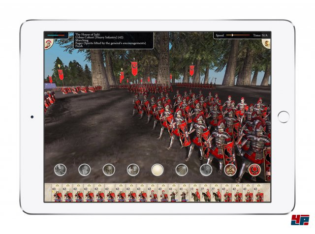 Screenshot - Rome: Total War (iPad)