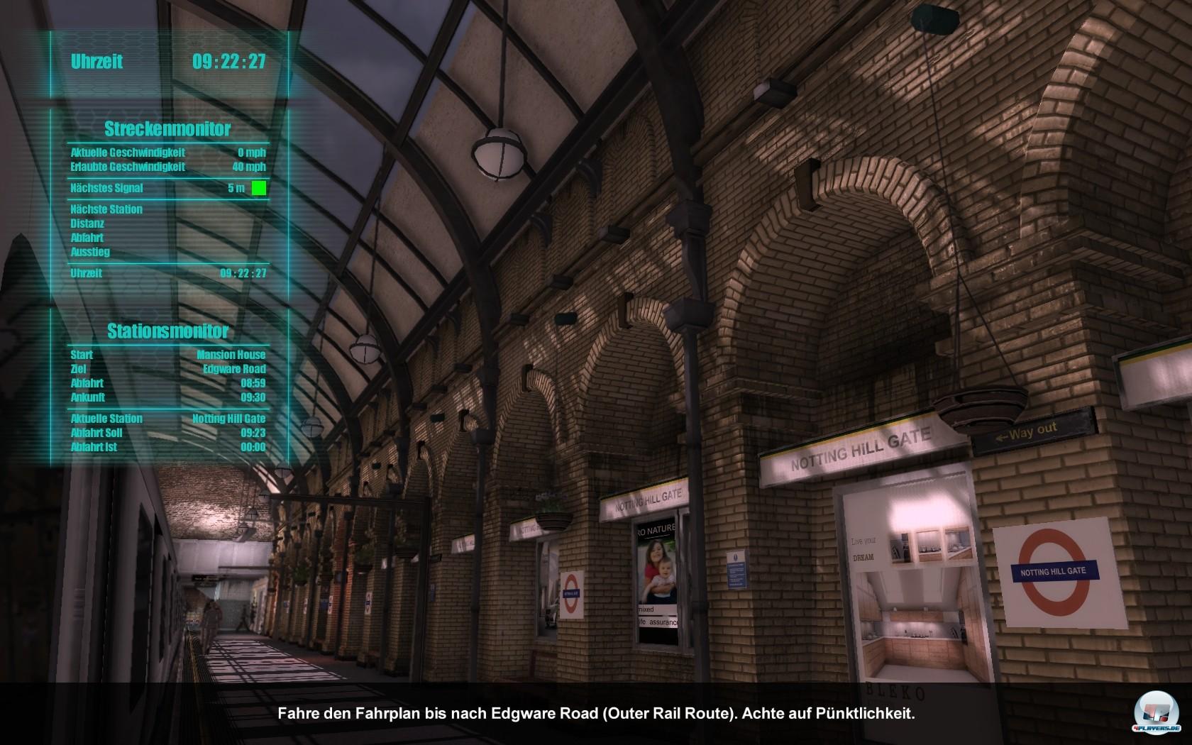Eines der Highlights der Simulation: Grandios inszenierte Stationen