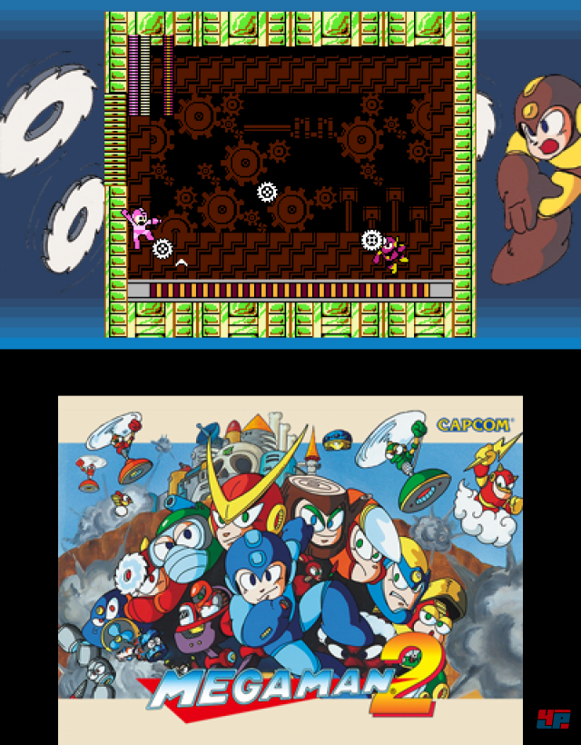 Screenshot - MegaMan Legacy Collection (3DS)