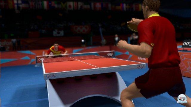 Tischtennis ist eine der nominell 46 Sportarten, mit denen man in London auf Medaillenjagd gehen darf.
