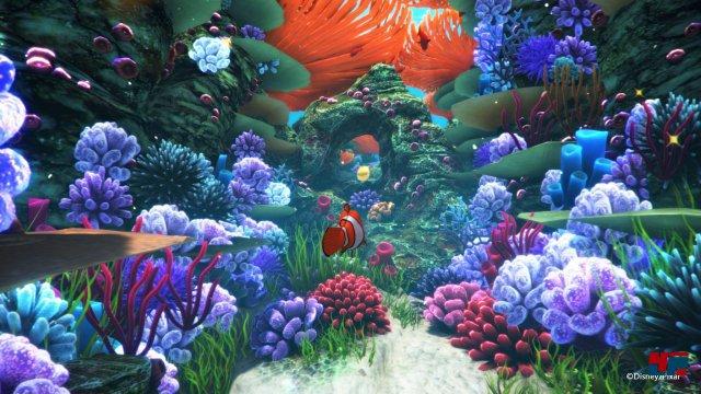 """Die Unterwasserwelten von """"Findet Dory"""" gab es seinerzeit auf 360 nicht."""