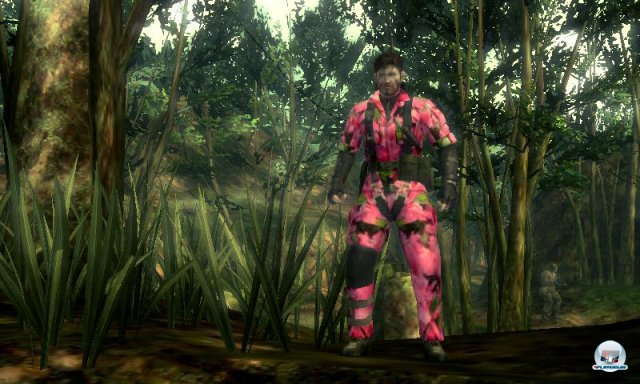 Screenshot - Metal Gear Solid: Snake Eater 3D (3DS)