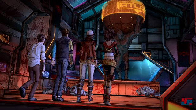 Screenshot - Tales from the Borderlands - Episode 2: Atlas Mugged (360)