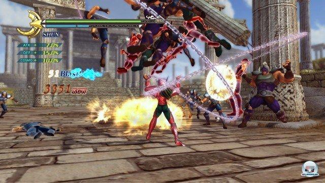 Screenshot - Saint Seiya: Sanctuary Battle (PlayStation3) 2274167