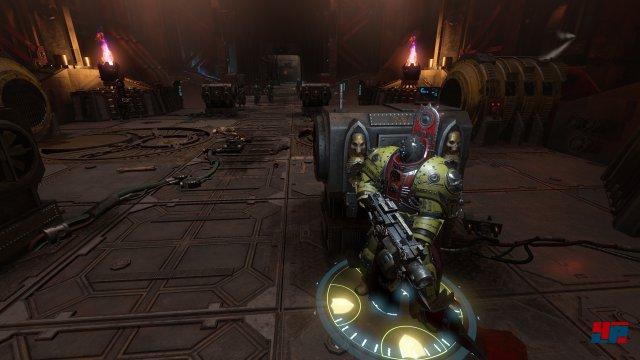 Inquisitor versucht, sich mit einigen Elementen von klassischen Action-Rollenspielen abzusetzen, u.a. mit einem aktiven Deckungssystem samt zerstörbarer Umgebung.
