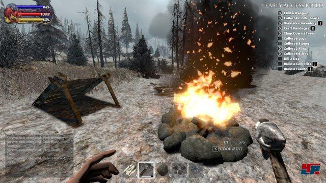 Ein Königreich für ein Lagerfeuer!