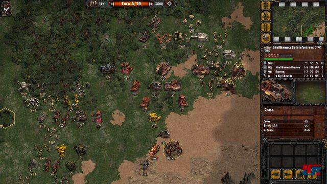 Screenshot - Warhammer 40.000: Armageddon - Da Orks (iPad)