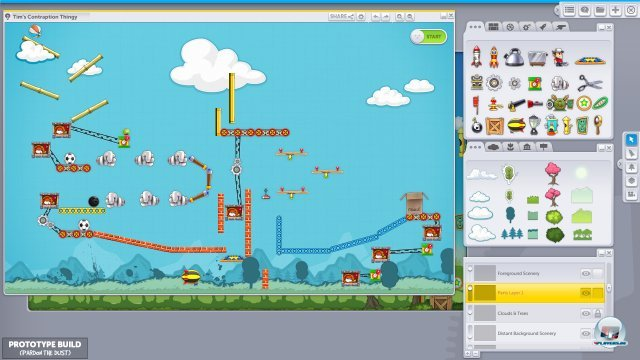 Screenshot - Contraption Maker (PC)
