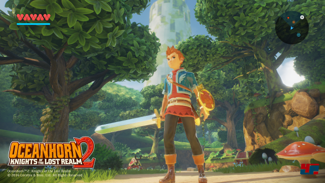 Screenshot - Oceanhorn 2: Knights of the Lost Realm (Android)